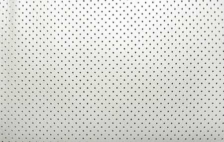 High quality perforated beige leather. Inter of modern japanese car. Background or backdrop. Stock Photo - 4306352