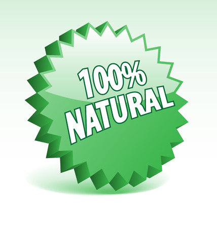 3D green vector badge for promotion, marketing, advertisement. Vector