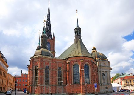 Church in center of Stockholm, Sweden. photo