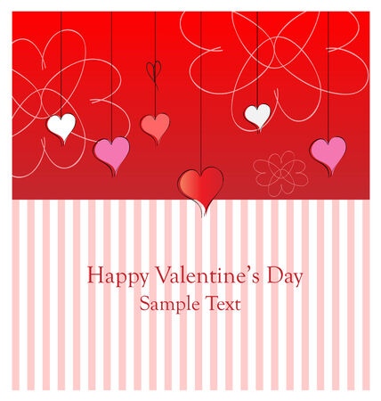 Happy valentine's day card. Perfect for adding text. Stock Vector - 6245043