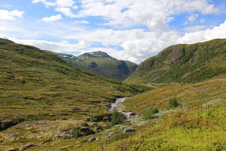 Beautifull valley deep in norwegian mountains, Scandinavian landscapes. Stock Photo - 6902367