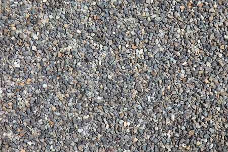 on aggregate: Aggregate stones as textured background. Stock Photo