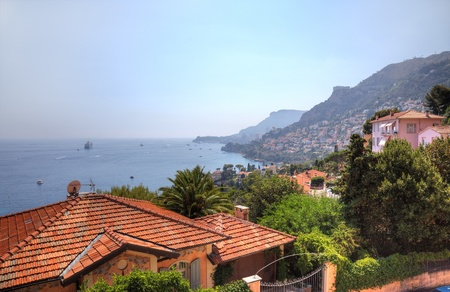 Cap Martin and Monaco summer landscape, Europe. photo