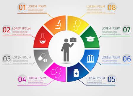 education concept: Education concept infographics.