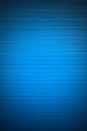 Blue closed garrage door background photo