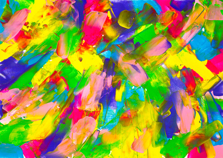 Original abstract oil painting on canvas.Multi colored wallpaper. Modern art concept. Contemporary project Stock fotó - 122215561