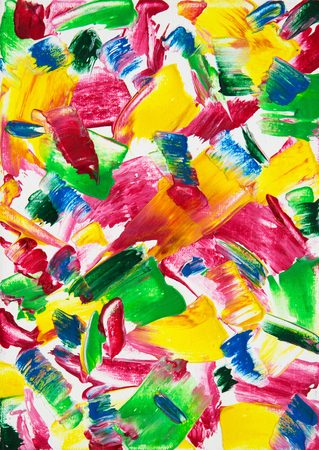 Original abstract oil painting on canvas.Multi colored wallpaper. Modern art concept. Contemporary project Stock fotó - 122215566