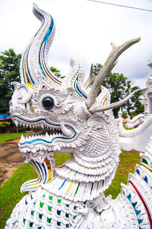 Dragon  in Thailand photo