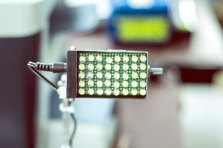 electronics industry:  Electronic lamp in  Electronics industry