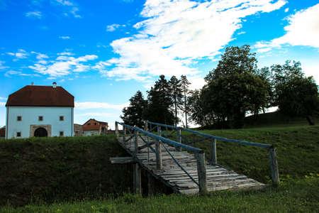 Remanings of old fort in Koprivnica. Croatia