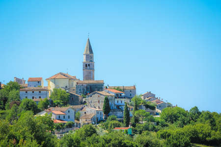 City of Visnjan, Istra. Croatia Stock Photo