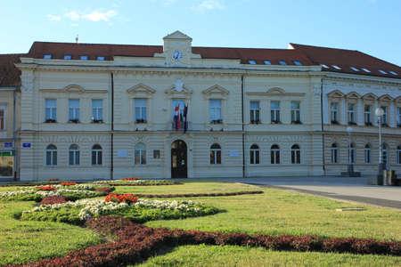 City Hall in Koprivnica, Croatia