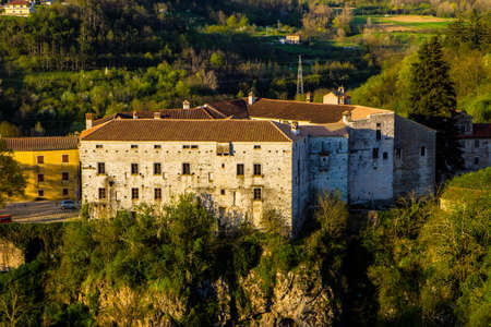 Fort in town Pazin. Croatia, Europe Stock Photo
