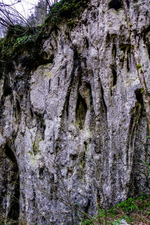 Rocks, geological formation in Nature Park, Papuk, Jankovac. Croatia, Europe