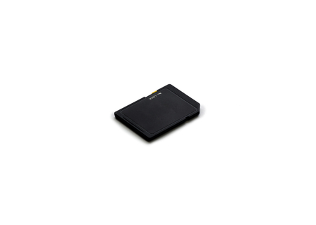 sd: black sd card isolate Stock Photo