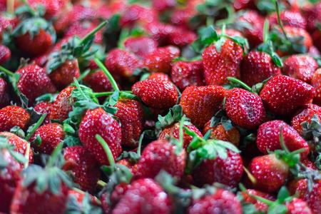 chandler: blur strawberry Stock Photo