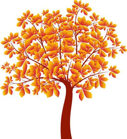 栗の木イラスト