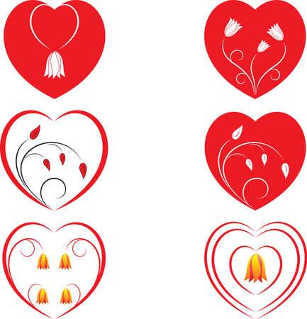 白と赤の心のベクトル、バレンタイン