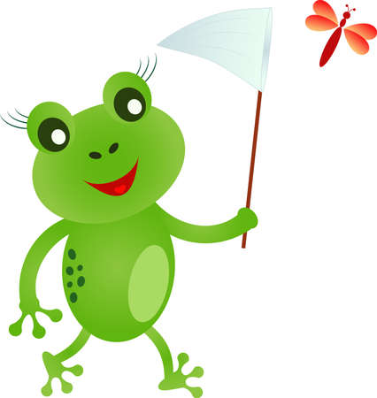 frog illustration: Isolated Frog Vector, Frog Cartoon, Frog Illustration