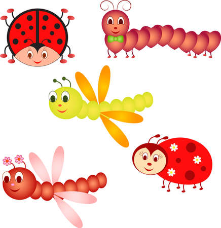 Insect Vectors Insect Cartoons