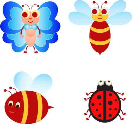 Insect Isolated Insects Insect Cartoons
