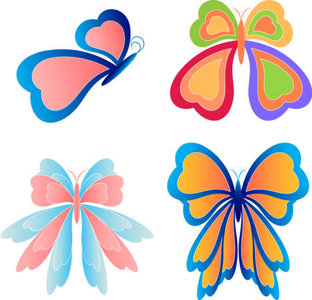 Butterfly Vectors, Insects 向量圖像