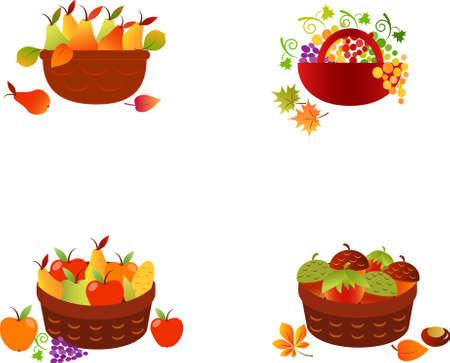フルーツ バスケット、野菜、果物