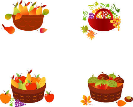 Fruit Baskets, Vegetables, Fruits