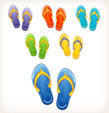 Pairs of flip flops