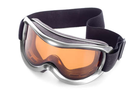 Sun-goggles on a white background
