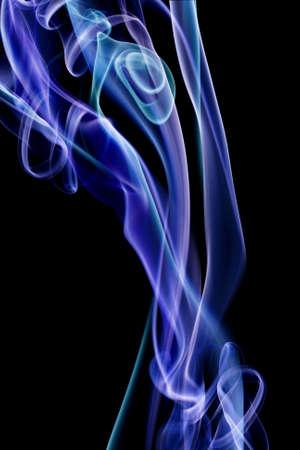 Colour smoke on a black background Stock Photo - 7167656