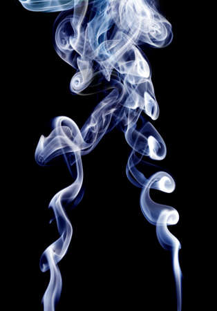 Colour smoke on a black background Stock Photo - 7167661