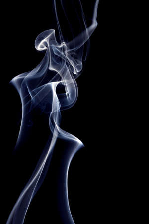 Colour smoke on a black background Stock Photo - 7167655