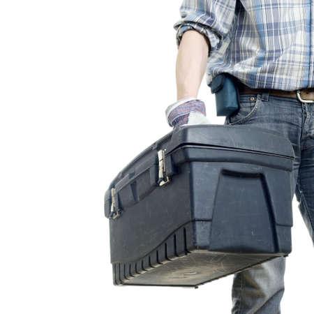 mantenimiento: El generador con un cuadro de instrumentos. El fondo blanco aislado