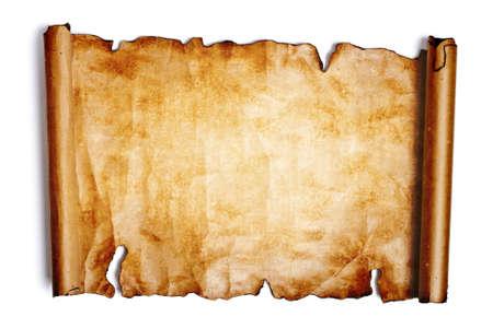 rękopis: Stare papieru na biaÅ'ym tle Zdjęcie Seryjne
