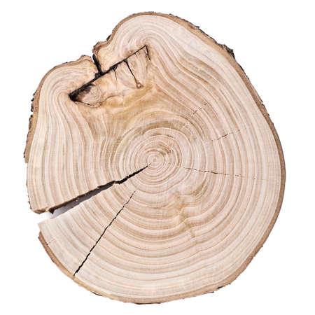 木リング木製の背景
