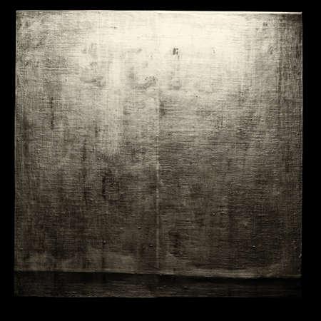 fray: A blank grungy canvas texture Stock Photo