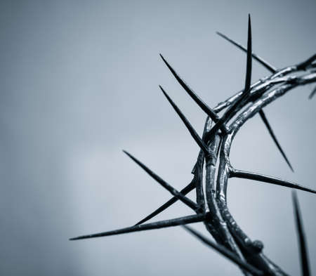 religious symbols: crown of thorns Stock Photo