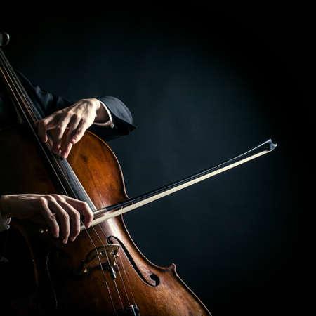 cellist: Vintage cello