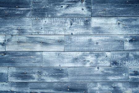 knotting: blue old wooden background