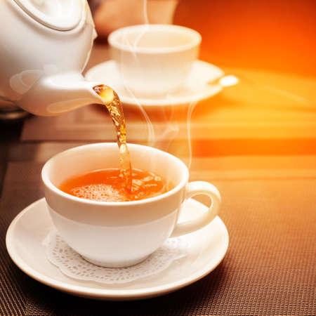 aromatic tea Imagens