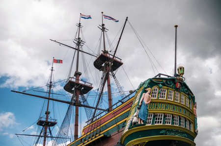 Ship The Amsterdam of Dutch East India Company, Amsterdam, Netherlands