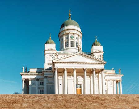 Helsinki lutheran Cathedral St Nicholas Church in Helsinkii, Finland