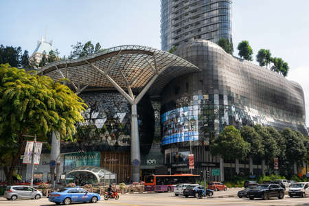 Singapore - February 9, 2019: Ion Orchard Road Editorial