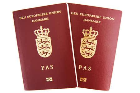 Two danish passports