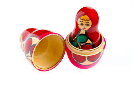 matreshka - the traditional russian souvenir, wooden doll Stock Photo - 9173089