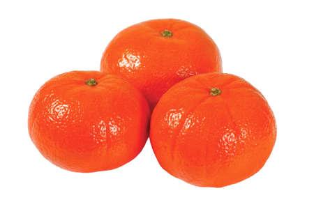 freshest: Three fresh juicy orange tangerine