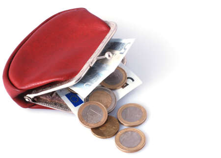 monies: old wallet and old changes