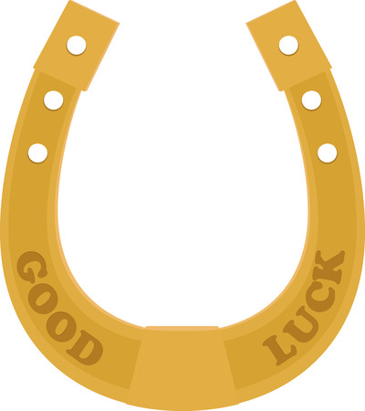 good luck charm: Golden Horseshoe superstition traditional good luck charm
