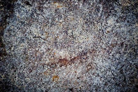 Scratched dark grunge or texture photo